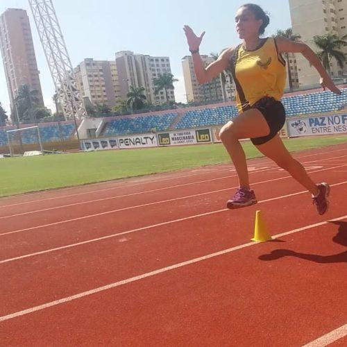 Atleta Letícia Rodrigues Cavalcante